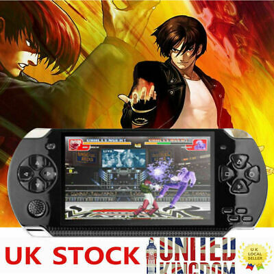 UK 4.3'' 8GB 1000 Games Built-In Portable PSP Handheld Video Game Console Player