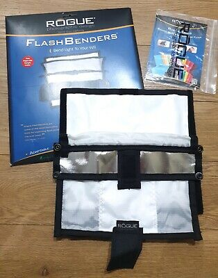 Rogue Flash Bender with Diffuser - Large 24x24cm Boxed NEW free Rogue Gel Sample