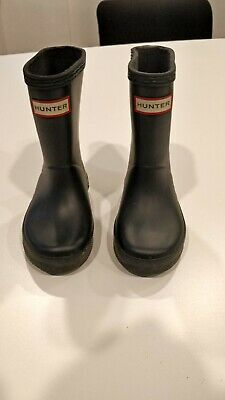 Hunter Wellies Infant Size 6 Navy
