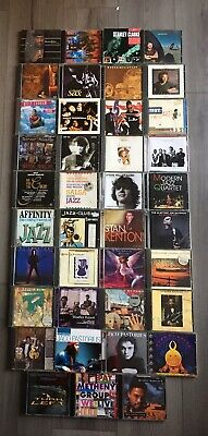 JOB LOT 39 TRADITIONAL AND MODERN JAZZ CDs