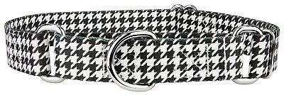 Country Brook Petz™ Houndstooth Martingale Dog Collar