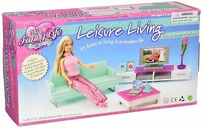My Fancy Life Barbie Size Dollhouse Furniture- Family Room Note
