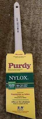 Sweat W Angle  Paint Brush Purdy  Nylox  2-1//2 in
