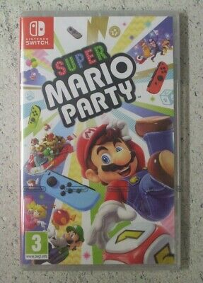 Nintendo SWITCH SUPER MARIO PARTY New Sealed