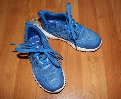 Adidas Alphabounce Beyond Kids Youth Sz 11K Running Shoes Sneakers Blue DB1412