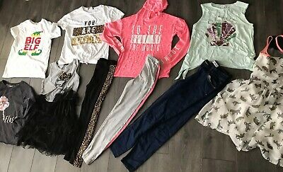 Girls Clothing Age 11/12 Outfit Leggings Dresses Jeans River Island Georges