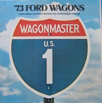 Sales Brochure 1973 Ford Wagons
