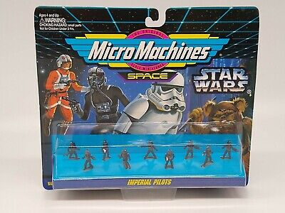 Star Wars Micro Machines Space Imperial Pilots - Factory Sealed