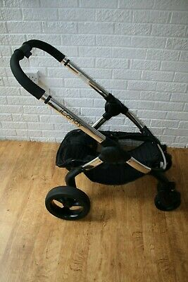 iCandy Peach 3 pram CHASSIS FRAME complete with wheels Chrome