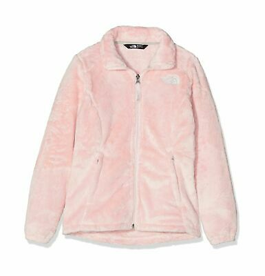 THE NORTH FACE Purdy Pink Supersoft Fleece Children's Osolita Jacket LARGE NEW
