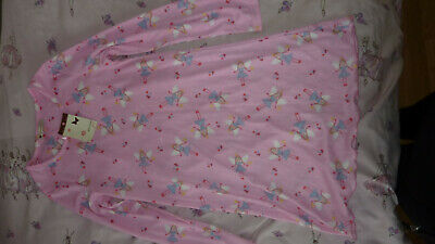 John Lewis Girl Fairy Nightdress Nightie Nightwear Pretty Pink Age 10 Bnwt