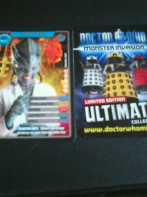 Dr who monster invasion ultimate card number 397 chantho