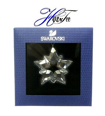 2019 Little Star Clear Ornament Snowflake Authentic Swarovski Crystal 5429593