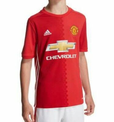 Adidas Manchester United Home Football Shirt 2016/17 Youth Size13-14 Years BNWT