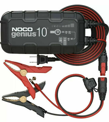 NOCO Genius 10 | 10A 12V Battery Charger | Latest 2019 Model