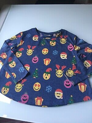 Next Girls Lovely Christmas Top/Leggings Outfit Age 8