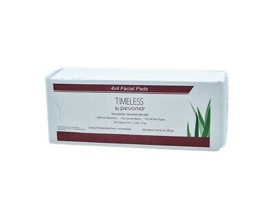 Timeless By Pevonia Non-Sterile General Use Pads 200 Pieces 4x4 Pads