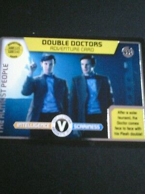 Dr who monster invasion ultimate Ltd Edition card number 451 Double Doctors