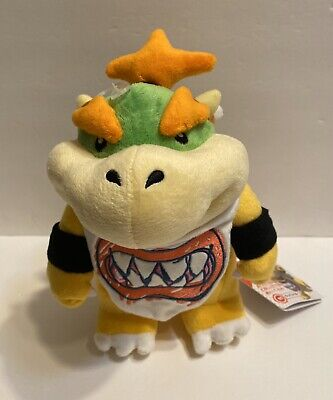 Baby Bowser Jr Koopa Plush Toy Super Mario Brother 8 5 H Us