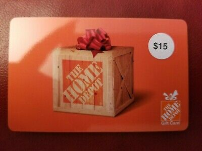 Brand New Home Depot Gift Card $15
