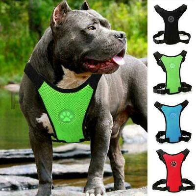 Breathable Air Mesh dog harness For small, large dogs G5X8 O0D9