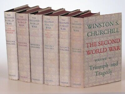 Winston S. Churchill - The Second World War, jacketed British first edition set