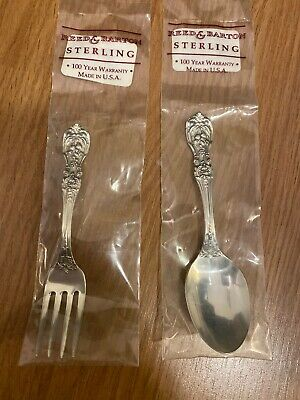 Francis I by Reed & Barton 2 Piece Baby Fork & Spoon Set, Sterling Silver