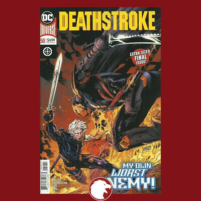 Deathstroke, Vol. 4 #50 A Regular Pagulayan & Paz Cover 1st Print (WK49.19)