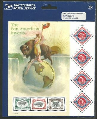 US Pan-American Exposition sheet in USPS packaging SC# 3505 Face $3.27 (4)