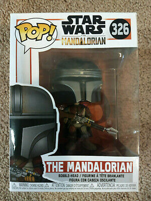 Funko Pop Star Wars The Mandalorian Disney #326 Vinyl Figure