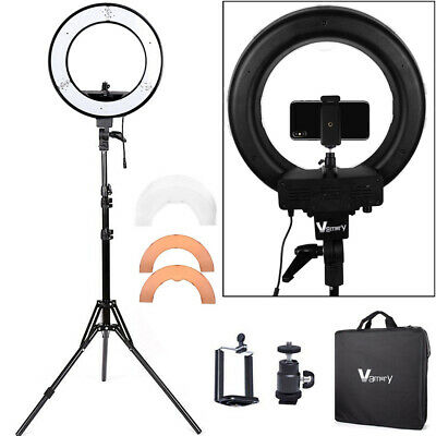 14Inch LED Ring Light With 2M Stand Phone Holder Make-up for Camera iPhone