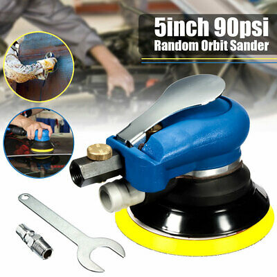 Air Random Orbital Sander 5inch 125mm Dual Action Vacuum Pneumatic Tools