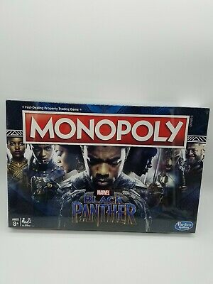 Monopoly Marvel Black Panther Edition Officially Licensed New Sealed Board Game