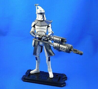 Star Wars Captain Rex action figure Dirty armor version THE CLONE WARS 2008