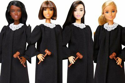 Set of 4 2019 Barbie Career of the Year Judge Dolls - Brand New - HTF - Hot Toy