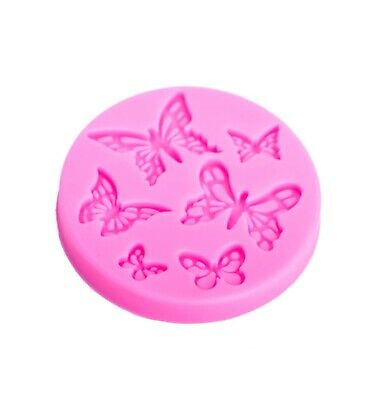 Butterfly Silicone Molds Craft Fondant Cake Decoration Gumpaste Molds Resin