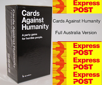 Cards Against Humanity Australian Edition Main Set Free Shipping 2.0 Version