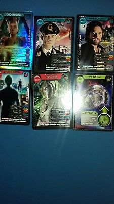 dr who monster invasion ultimate cards 376.383.396.422.425.432.