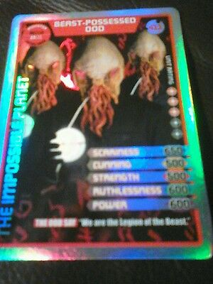 Dr who monster invasion ultimate card number 411 Beast processed ood