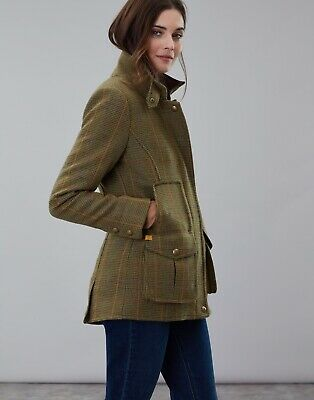 Joules Mr Toad Green Tweed FieldcoT Brand New with Tags