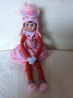 Elf Christmas dress Hat Boots prop/accessories handmade to fit on the shelf Elf