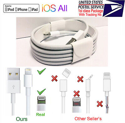 OEM Lightning to USB Charging Cable For Apple iPhone5 6 7 8 X Xs 11 Pro Max iPad