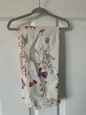 Girls Next Linen Floral Trousers Age 9