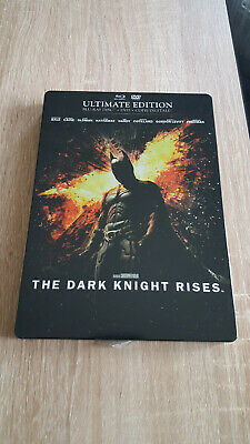 Batman - The Dark Knight Rises [Ultimate Edition boîtier SteelBook)