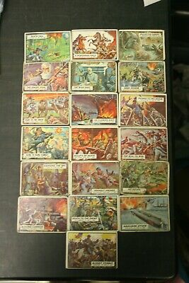 Topps Civil War Card Lot of 19 Pcs. Poor to VG Condition