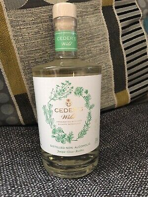 Ceder's Wild Non-Alcoholic Distilled Alt Gin, 500ml Brand New Sealed