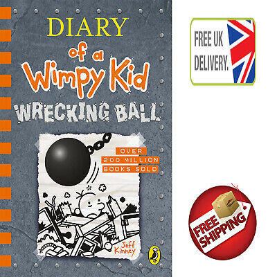 "Diary of a Wimpy Kid: Wrecking Ball (Book 14) by Jeff Kinney ""NEW"""