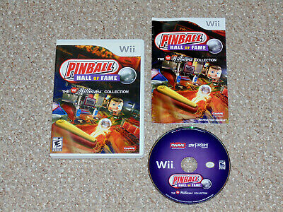 Pinball Hall of Fame: The Williams Collection Nintendo Wii Complete