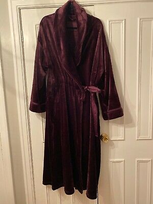 Marks & Spencer Rosie Soft Robe Dressing Gown Size 20 22 Cost £45 Never worn