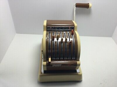 Vintage Collectible Hedman Check Writer
